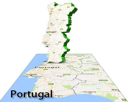 Interactive Flash Maps - Portugal map interactive